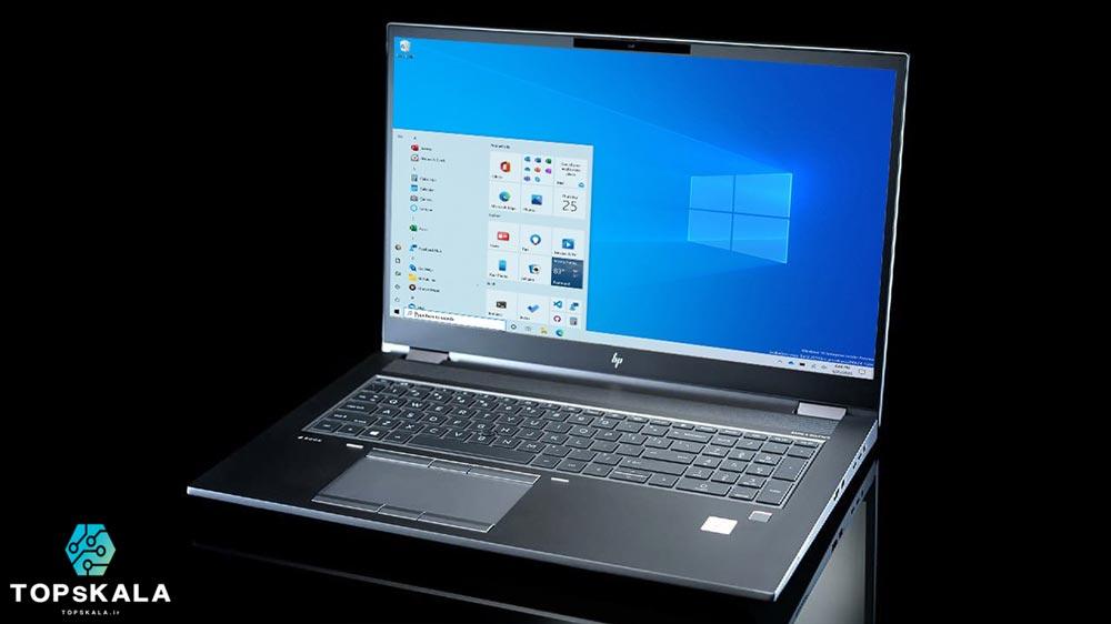 لپ تاپ آکبند اچ پی مدل HP ZBook Fury 17 G7 با مشخصات Intel Core i9 10885H - Nvidia Quadro RTX 3000 دارای مهلت تست و گارانتی رایگان / محصول HP