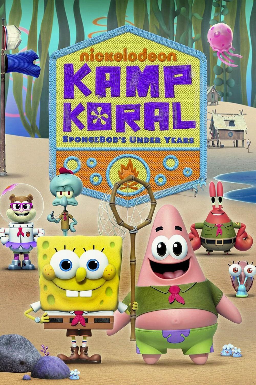 دانلود انیمیشن باب اسفنجی کمپ کورال دوبله فارسی بدون سانسور - Kamp Koral: SpongeBob's Under Years