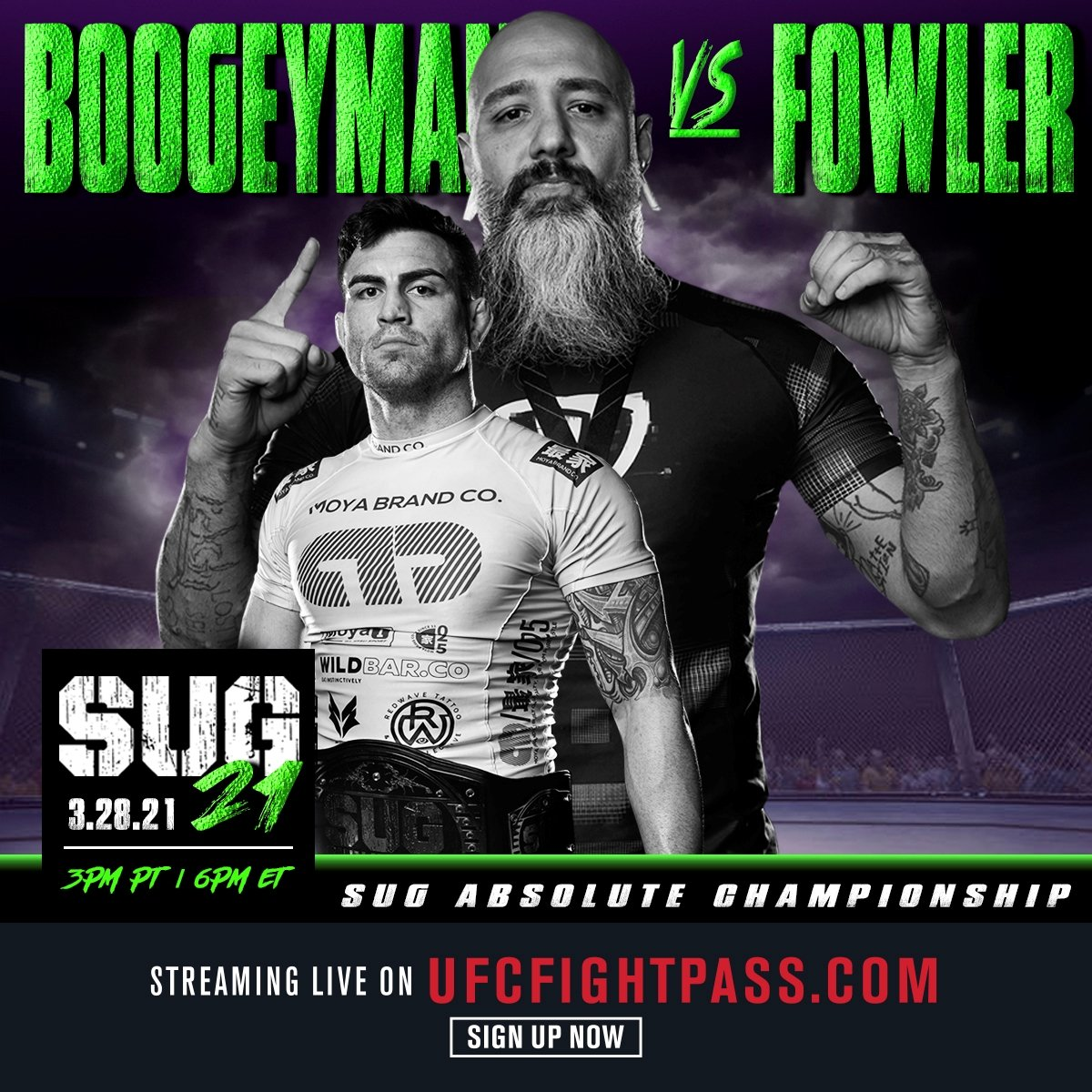 مسابقات گراپلینگ: Submission Underground 21: Fowler vs. Martinez