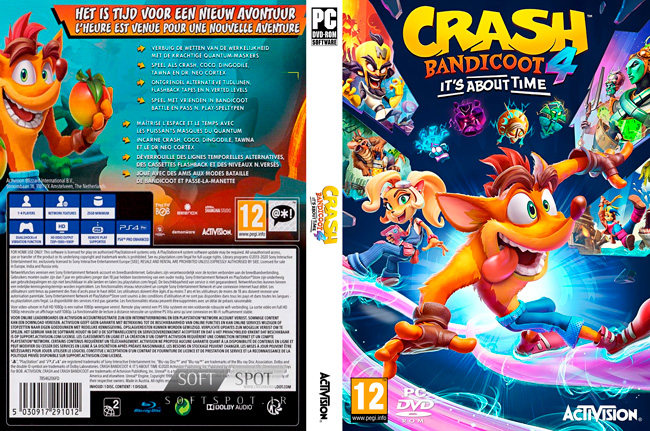 Crash Bandicoot 4: It's About Time Cover