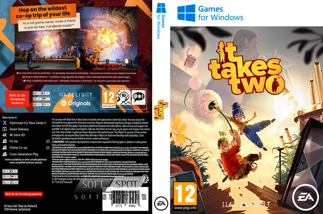 It Takes Two Cover