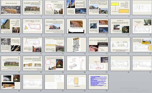 پاورپوینت تحلیل پروژه موزه علوم و دانش چانگدو